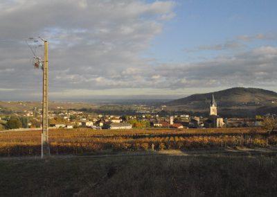 The village of Quincie-en-Beaujolais