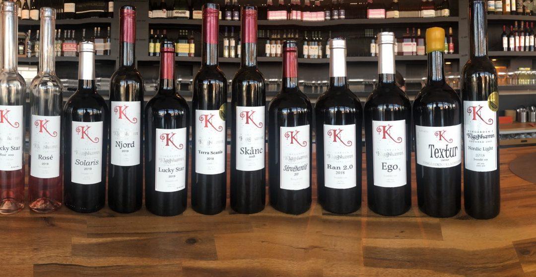 Vingården i Klagshamn på Swedish Winecenter